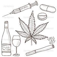 taking narcotics
